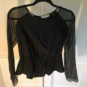 100% silk Rebecca Taylor blouse